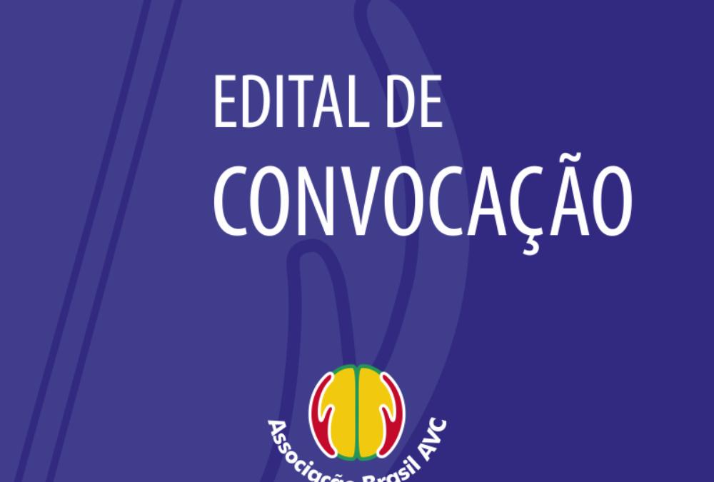 EDITAL DE CONVOCAÇÃO.