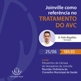 Joinville como referencia no tratamento do AVC – 25 | JUN