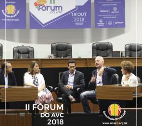 A Associação Brasil AVC promoveu o II Fórum do AVC