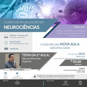 2ª Aula do I Curso de Atualização em Neurociências | Início 09/04