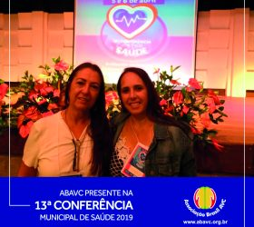 ABAVC presente na 13ª Conferência Municipal de Saúde de 2019