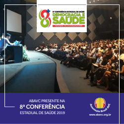 ABAVC Participa da 8ª Conferência Estadual de Saúde de Santa Catarina