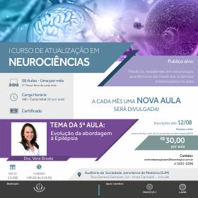 5ª Aula do I Curso de Atualização em Neurociências | Início 13/08