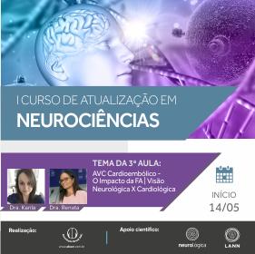 3ª Aula do I Curso de Atualização em Neurociências | Início 14/05