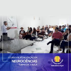Aconteceu ontem (09|Abril) a segunda aula do I Curso de Atualização em Neurociências.