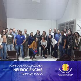 Aconteceu ontem (11|Jun) a quarta aula do I Curso de Atualização em Neurociências.
