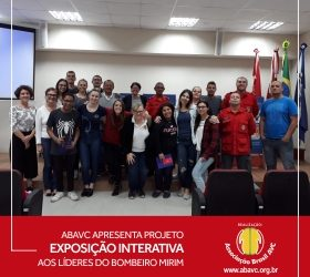 ABAVC – Apresenta projeto Exposição Interativa aos líderes do Bombeiro Mirim de Joinville