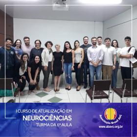 Aconteceu ontem (10|SET) a 6ª aula do I Curso de Atualização em Neurociências.