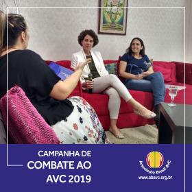 ABAVC Divulga Campanha de Combate ao AVC 2019 na TVBE