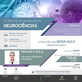 6ª Aula do I Curso de Atualização em Neurociências | 10/09