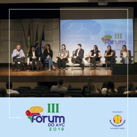 A Associação Brasil AVC (ABAVC) realizou ontem 25|10 o III FÓRUM DO AVC 2019