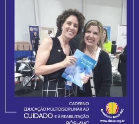 ABAVC lança a 1ª Edição do Caderno EDUCAÇÃO MULTIDISCIPLINAR AO CUIDADO E À REABILITAÇÃO PÓS-AVC.