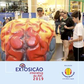 A Exposição Interativa do AVC 2019 aconteceu no Shopping Mueller de 24 a 29/10