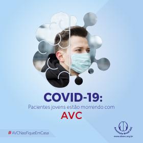 Pacientes jovens com infecção pelo COVID-19 estão morrendo com AVC.