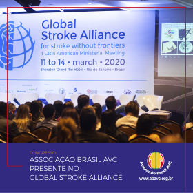 A Associação Brasil AVC esteve presente no  Global Stroke Alliance de 11 a 14 de março