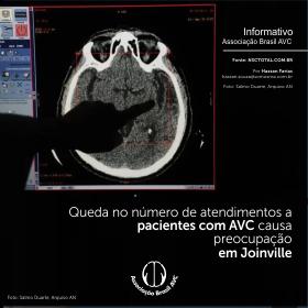 Queda no número de atendimentos a pacientes com AVC causa preocupação em Joinville