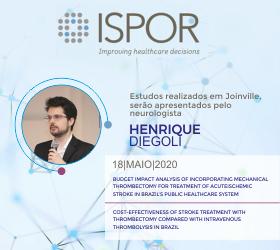 Estudos realizados em Joinville serão apresentados no congresso americano ISPOR 2020
