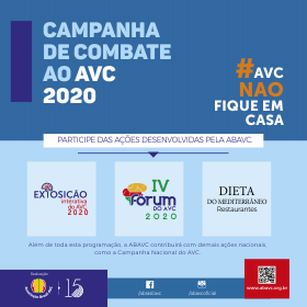 Campanha de Combate ao AVC 2020 já começou!