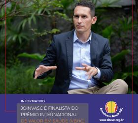 Joinvasc é finalista do Prêmio Internacional de Valor em Saúde (VBHC).