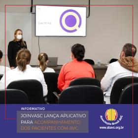 Joinvasc lança aplicativo para acompanhamento dos pacientes com AVC