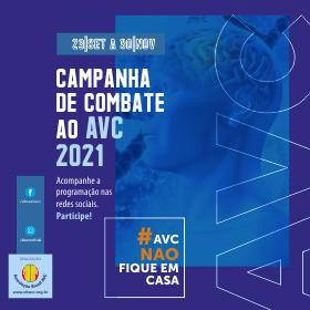 Campanha do Combate ao AVC 2021!