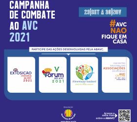 ABAVC convida comunidade para a Campanha do Combate ao AVC 2021